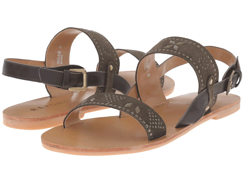 Report Zasha Olive Womens Shoes