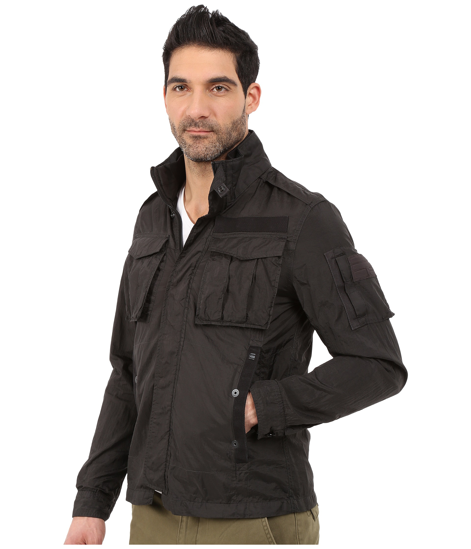 g star rovic overshirt at. Black Bedroom Furniture Sets. Home Design Ideas