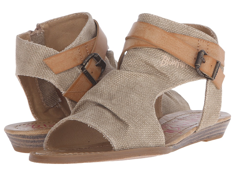 Blowfish Kids - Balla (Little Kid/Big Kid) (Desert Sand Canvas) Girls Shoes