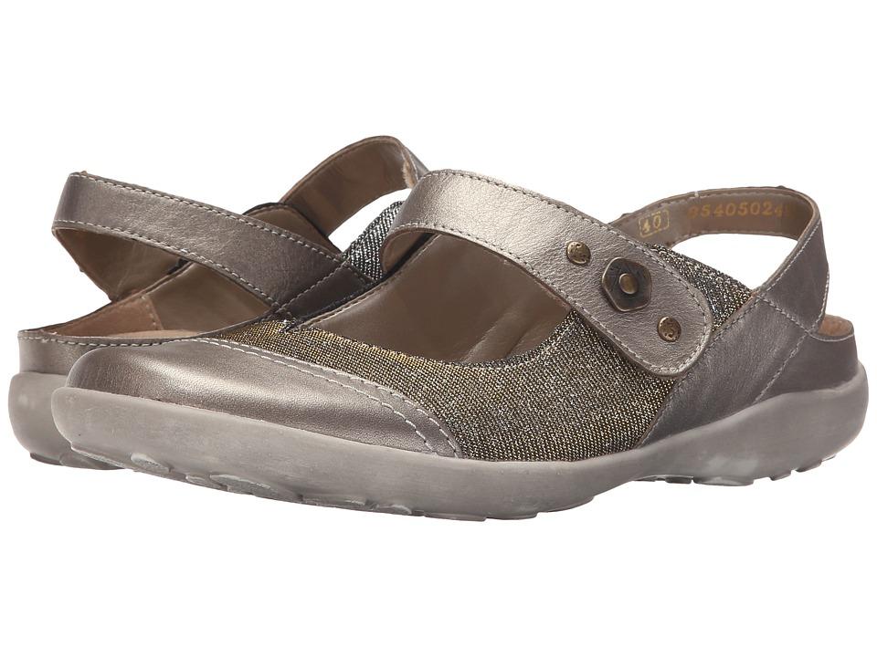 Rieker R1738 Liv 38 Strap Altsilber/Gold/Silver Womens Maryjane Shoes