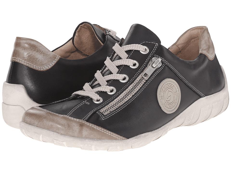 Rieker R3408 Liv 08 (Steel/Black) Flats