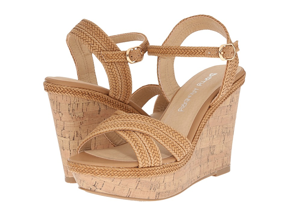 Dirty Laundry DL Clarify Natural 2 Womens Wedge Shoes