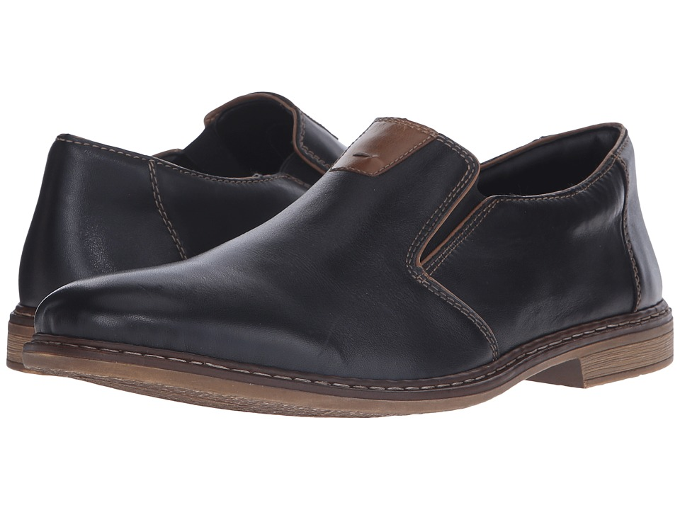 Rieker 13462 Diego 62 Nero/Zimt/Black Mens Shoes