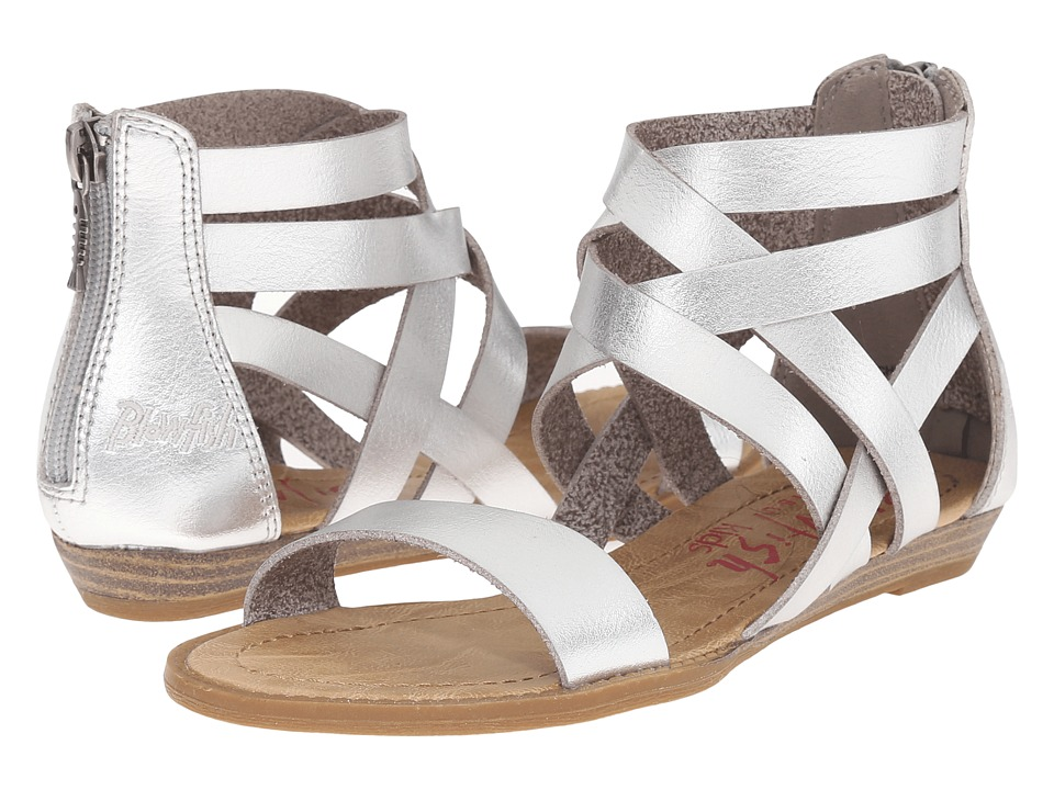 Blowfish Kids Billa K Little Kids/Big Kids Silver Girls Shoes