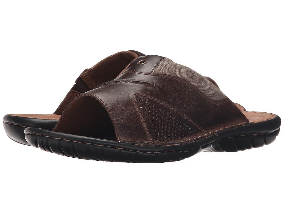 Rieker 26595 Christoph 95 Nougat/Stone/Nougat Mens Sandals