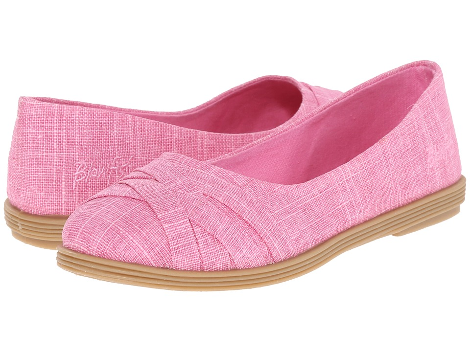 Blowfish Kids Glo K Little Kids/Big Kids Dusty Pink Linen Girls Shoes