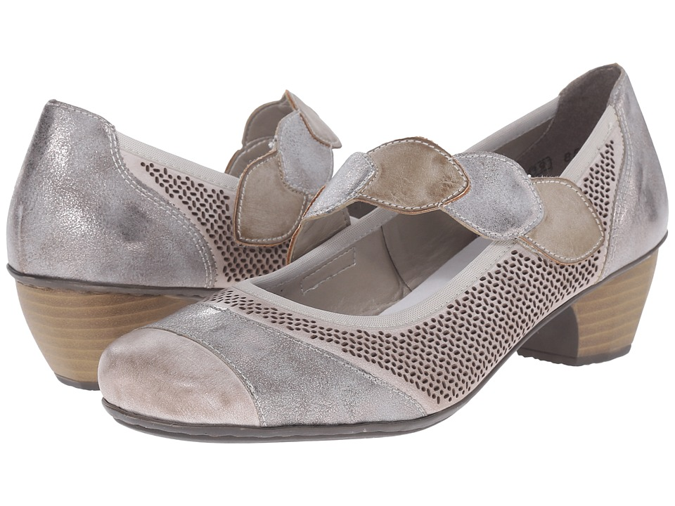 Rieker - 41755 Mariah 55 (Clay/Grey/Taupe) Women