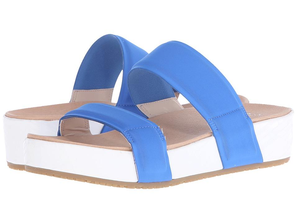 Dr. Scholls Frazzle Original Collection Blue Neoprene Womens Shoes