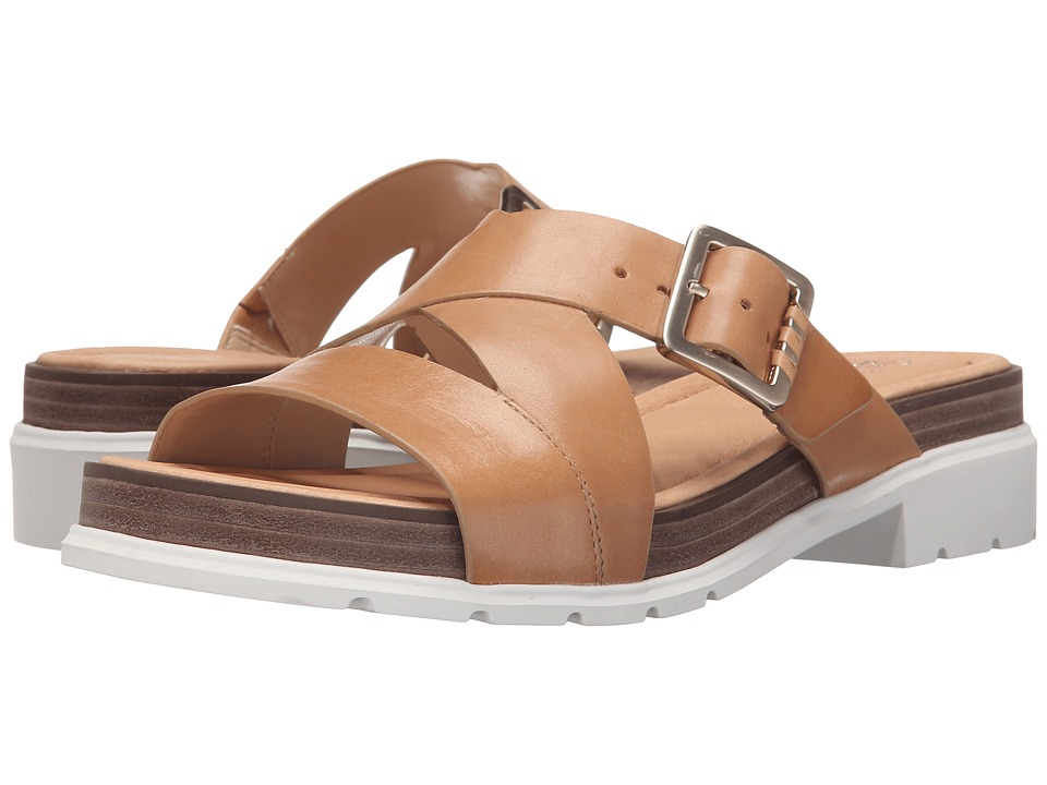 Dr. Scholls Hellena Original Collection Sienna Tan/White Bottom Womens Sandals