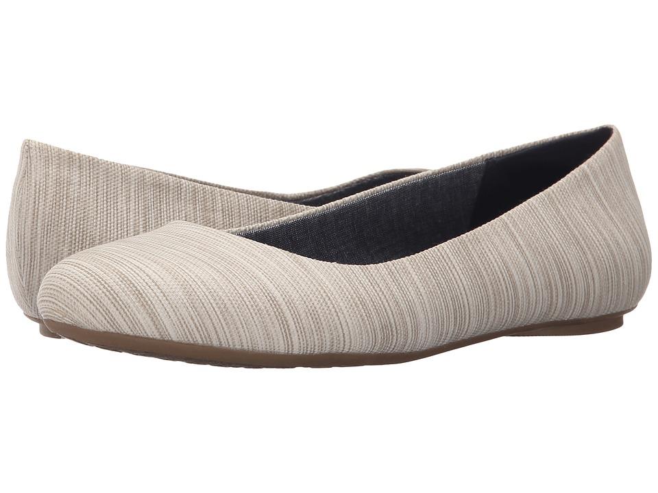 Dr. Scholls Really Smoke Harmony Stripe Womens Flat Shoes
