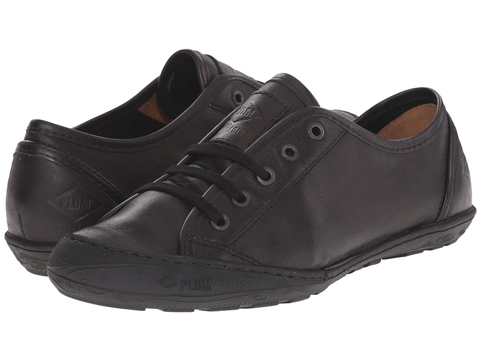 PLDM Game VAC Black Womens Lace up casual Shoes