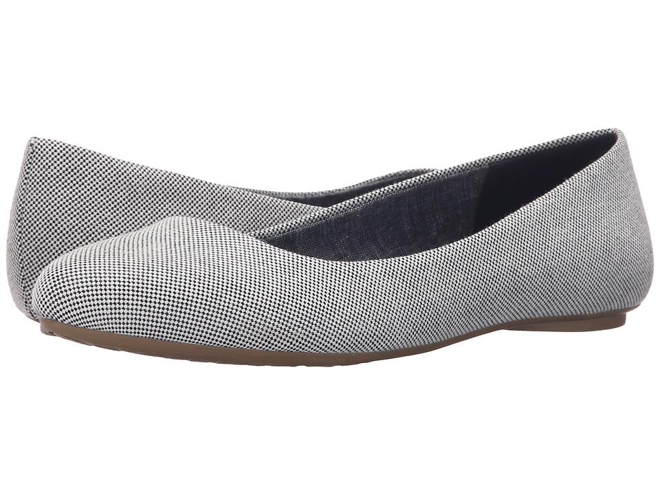 Dr. Scholls Really Navy Beach Bag Womens Flat Shoes