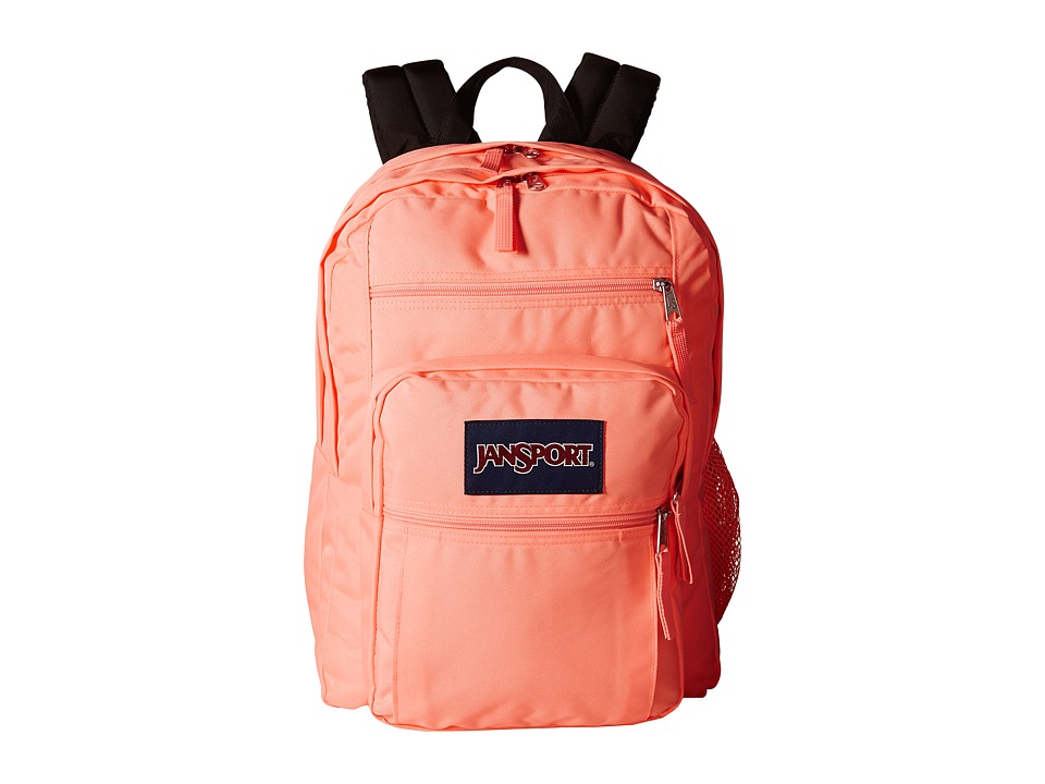 JanSport Big Student Coral Peaches Backpack Bags