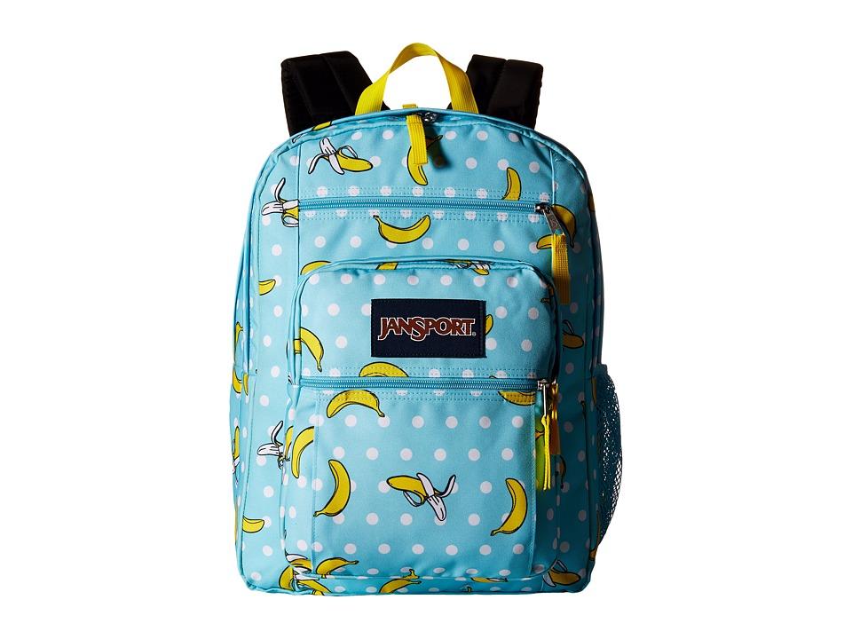 JanSport Big Student Blue Topaz/Oh Bananas Backpack Bags