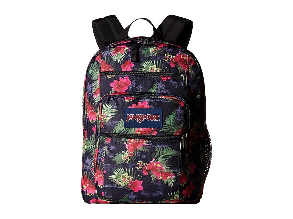 JanSport Big Student Multi Hot Tropic Backpack Bags