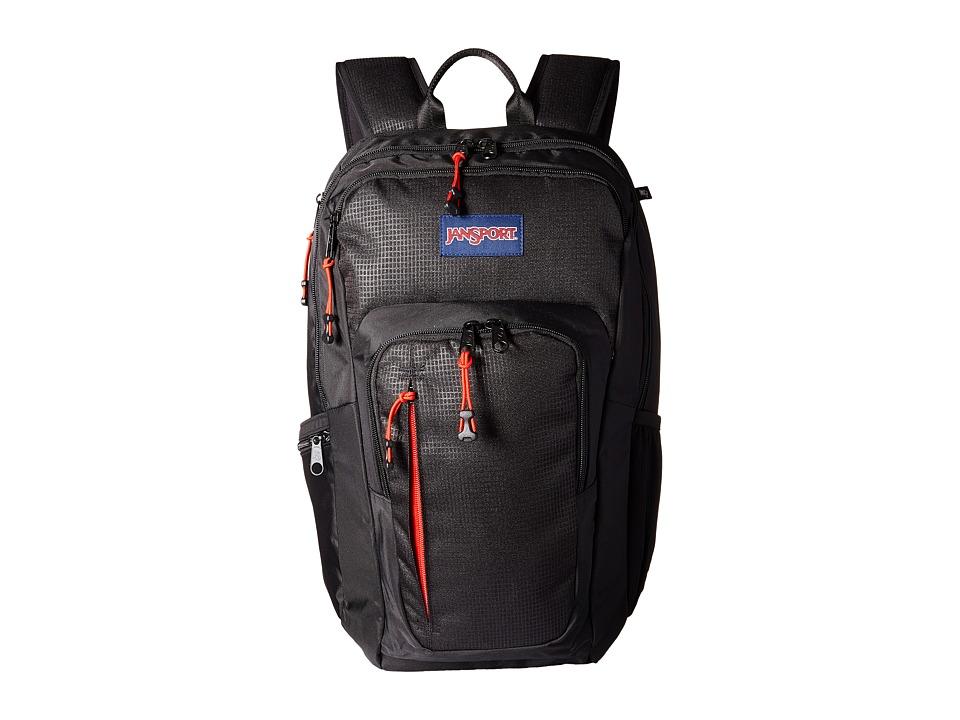JanSport Recruit Bag Black Backpack Bags