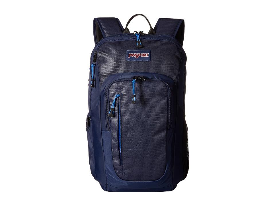 JanSport Recruit Bag Navy Backpack Bags