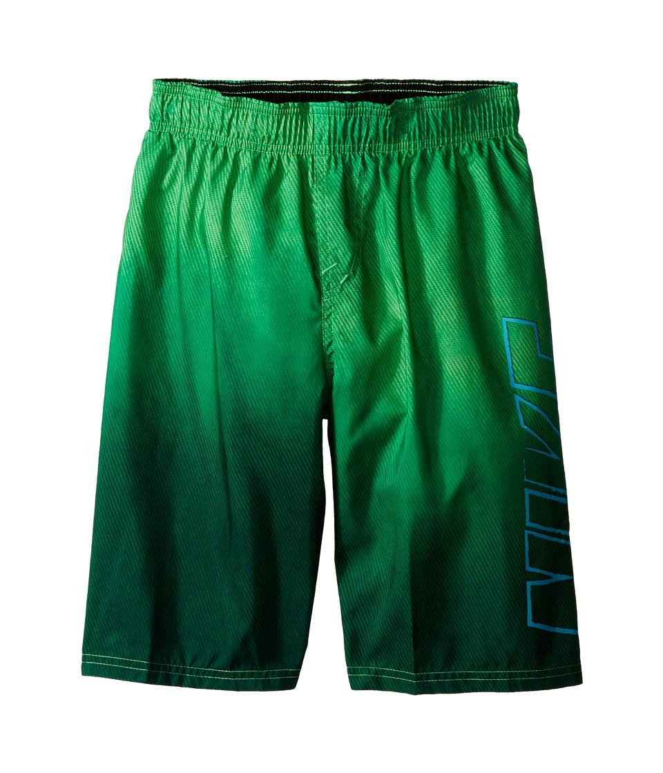 Nike Kids Cannon Ball 9 Volley Swim Trunk Voltage Green Boys Swimwear