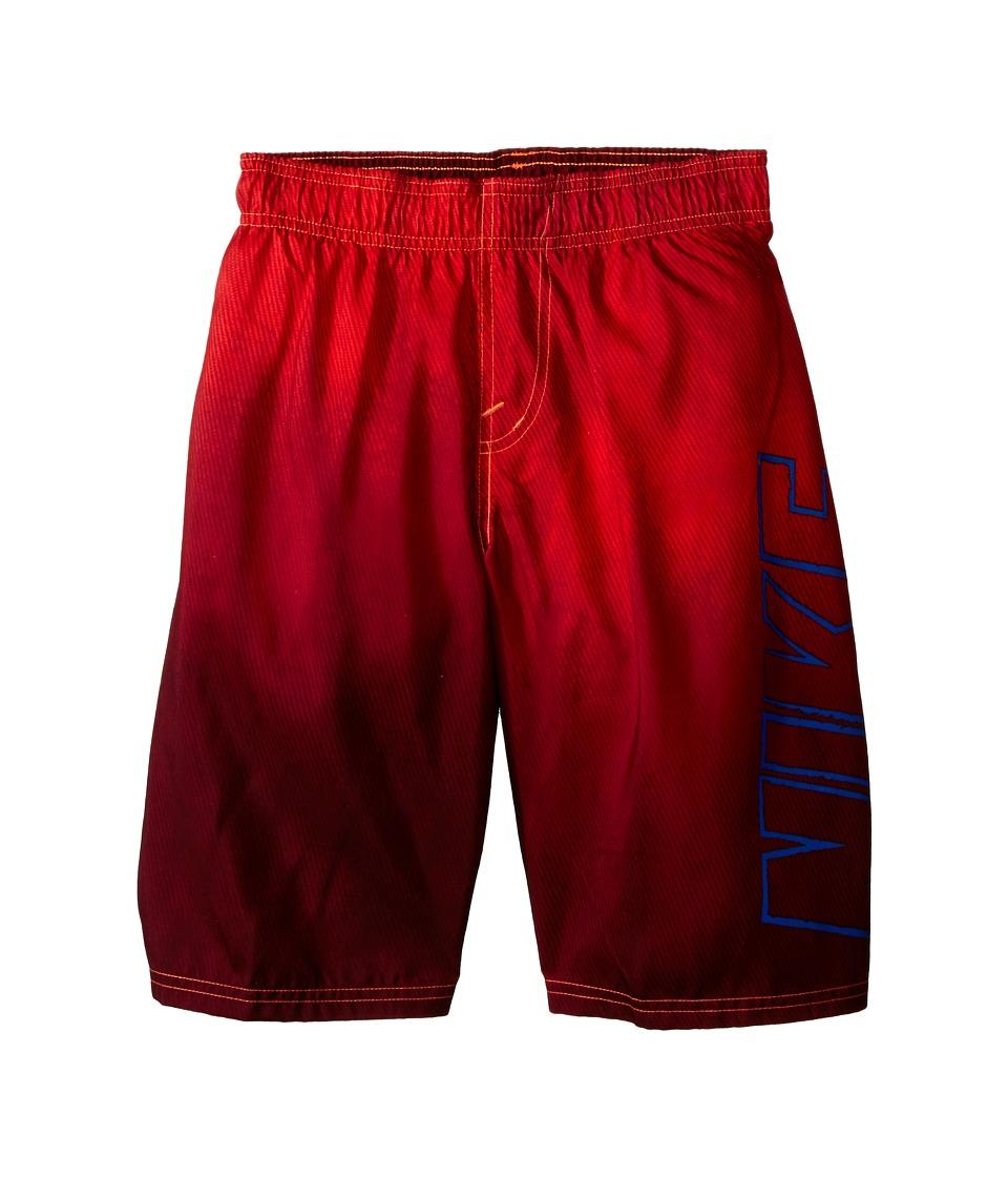 Nike Kids Cannon Ball 9 Volley Swim Trunk Total Orange Boys Swimwear