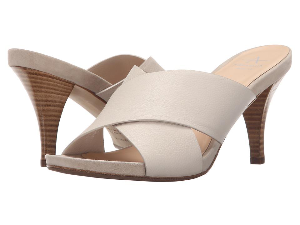 Aquatalia Brea Bone Thumbled Calf Womens Shoes