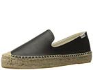 Soludos Platform Smoking Slipper Leather