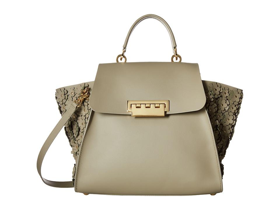 ZAC Zac Posen - Eartha Iconic Top-Handle (Beige) Top-handle Handbags