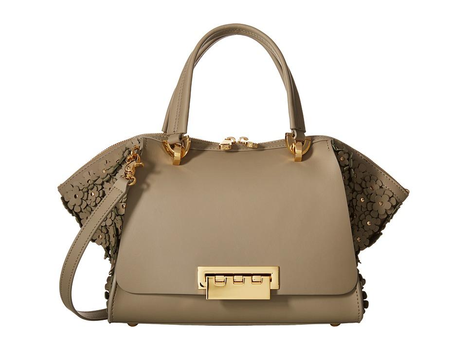 ZAC Zac Posen - Eartha Iconic Small Double Handle (Beige) Handbags
