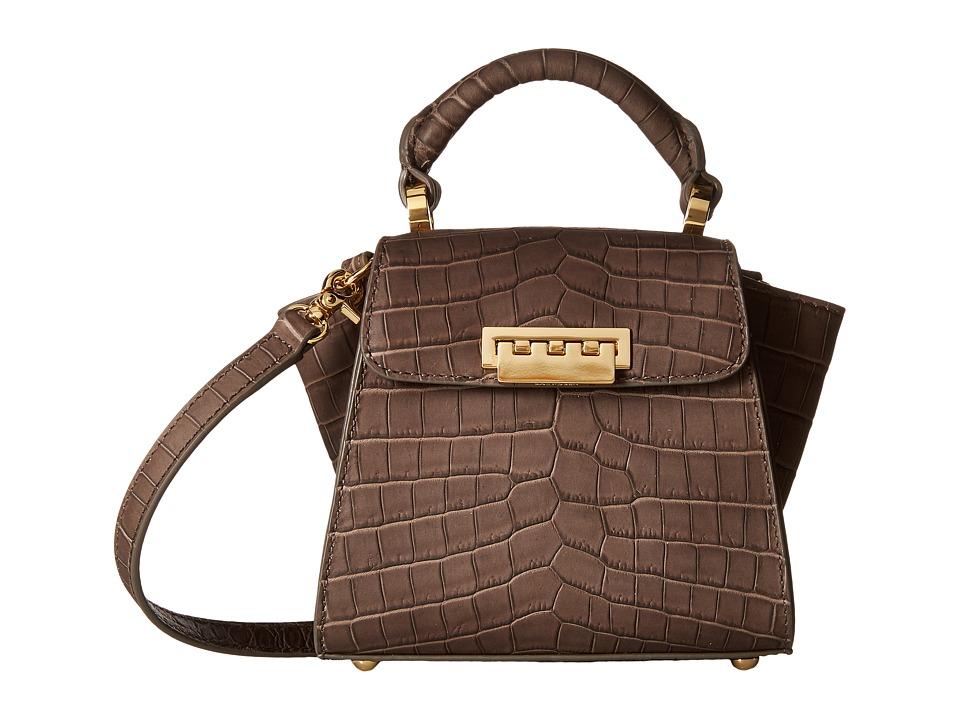 ZAC Zac Posen - Eartha Iconic Top-Handle Mini (Olive) Top-handle Handbags