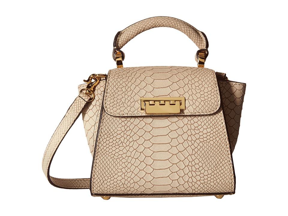 ZAC Zac Posen - Eartha Iconic Top-Handle Mini (Ivory) Top-handle Handbags