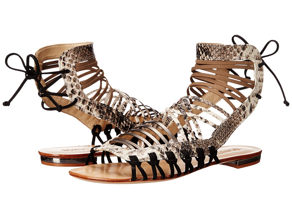 Schutz Agathe Pearl/Yucca Womens Sandals