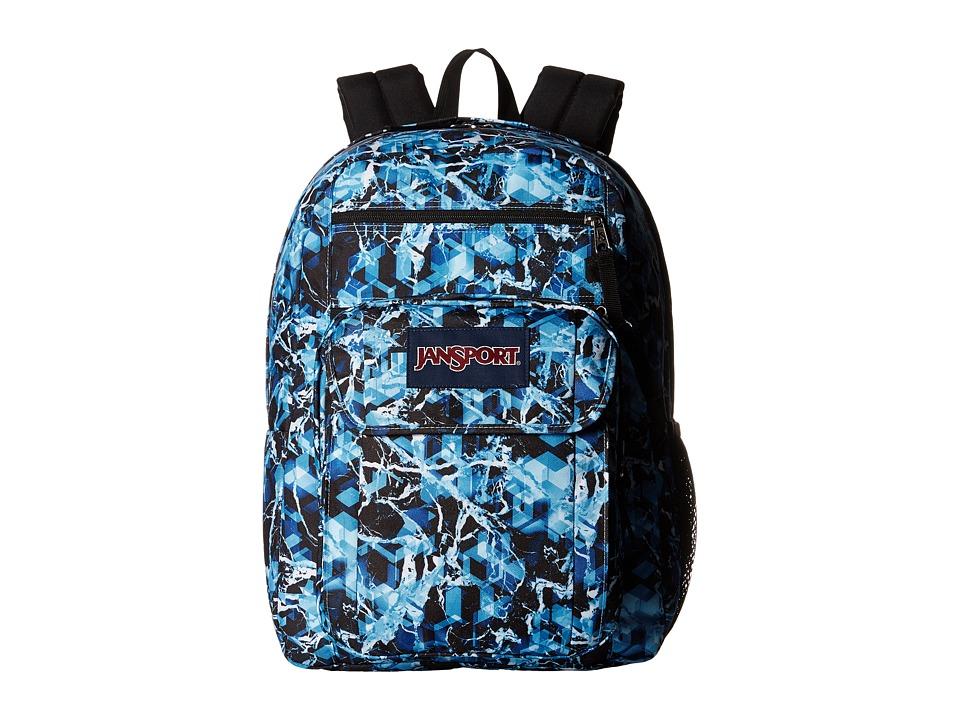 JanSport Digital Student Multi Blue Ice Backpack Bags