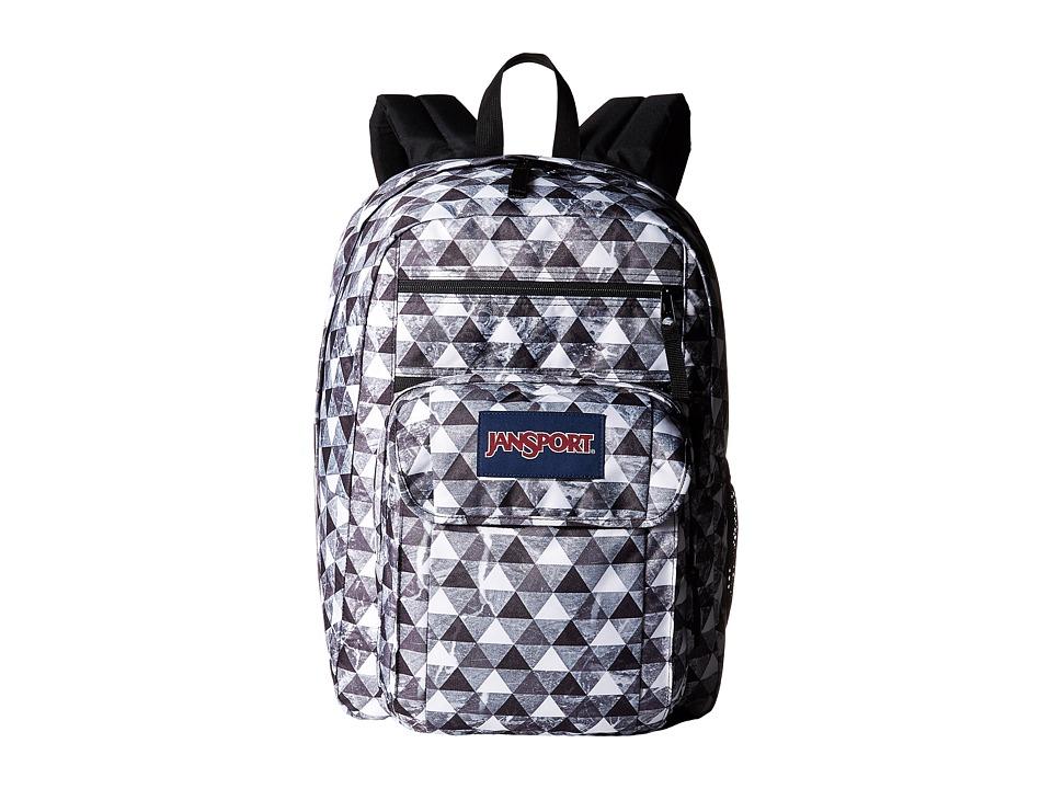 JanSport Digital Student Multi Marble Prism Backpack Bags
