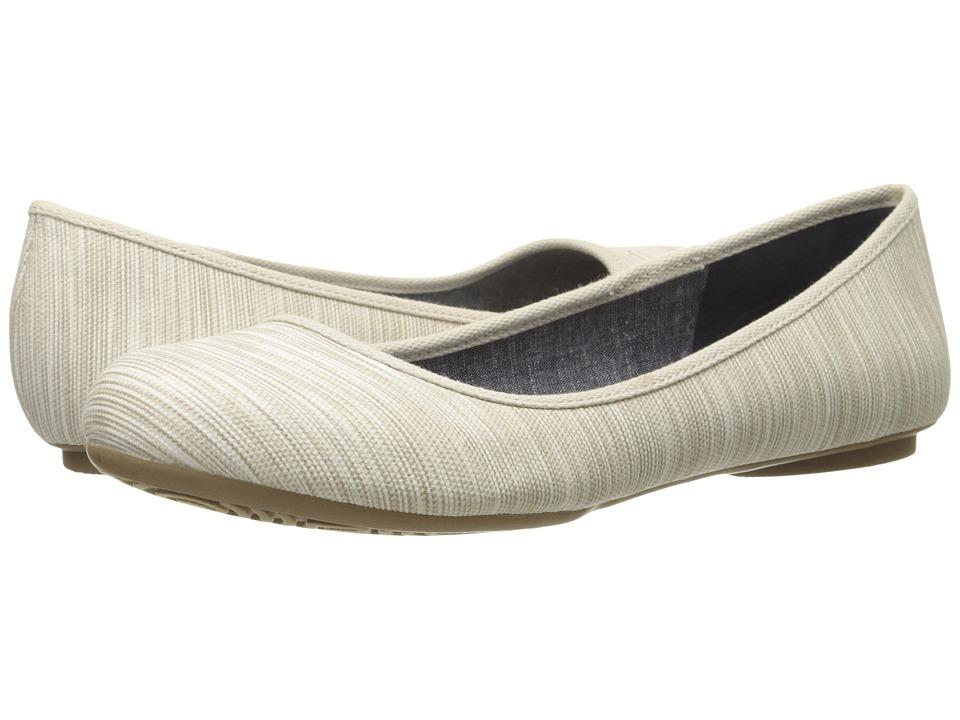 Dr. Scholls Friendly Smoke Harmony Stripe Womens Flat Shoes
