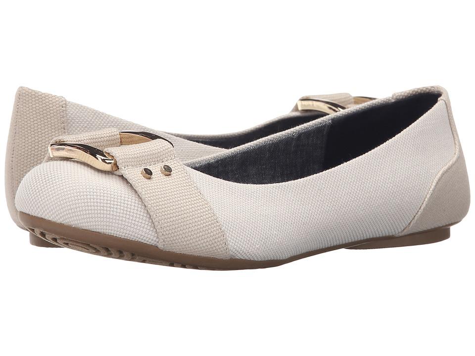 Dr. Scholls Frankie Smoke Beach Bag Womens Flat Shoes