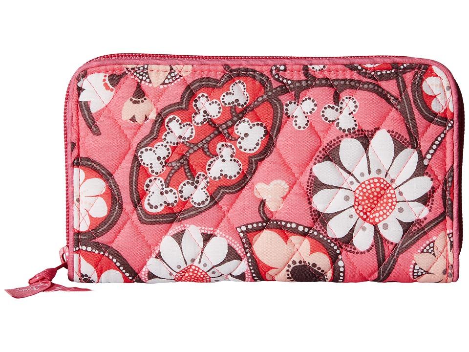 Vera Bradley - Accordion Wallet (Blush Pink) Wallet Handbags