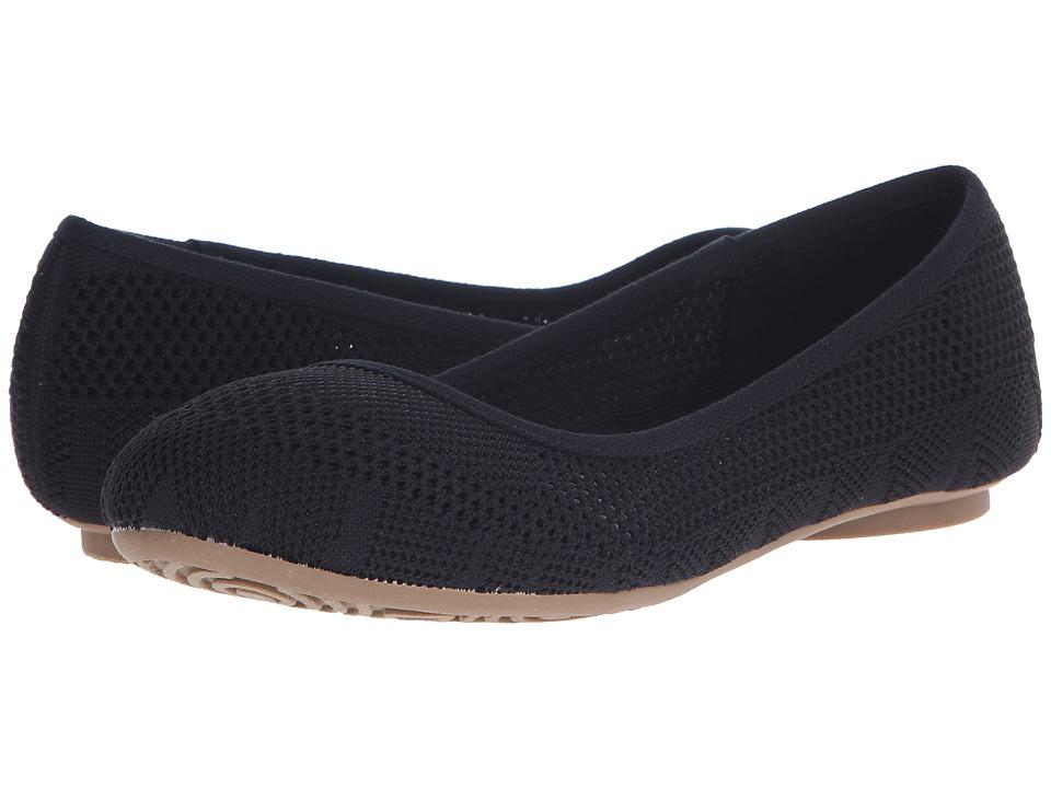 Dr. Scholls Freshest Black Knit Mesh Womens Shoes