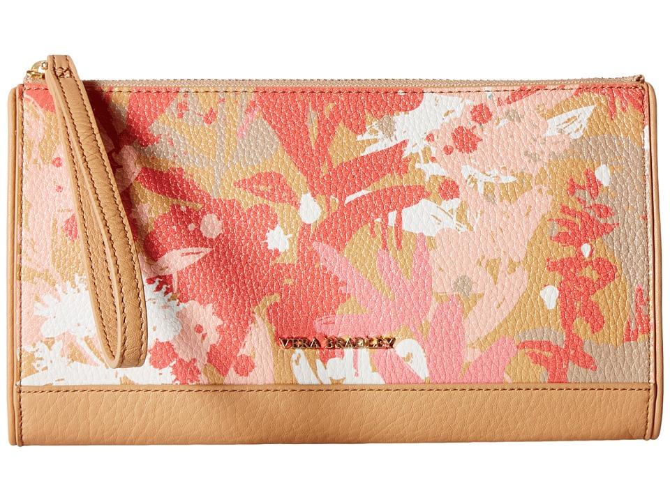 Vera Bradley Anna Wristlet Camofloral Nude Wristlet Handbags
