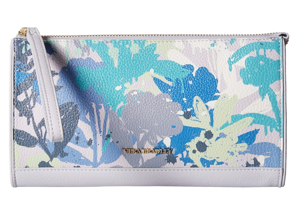 Vera Bradley Anna Wristlet Camofloral Gray Wristlet Handbags
