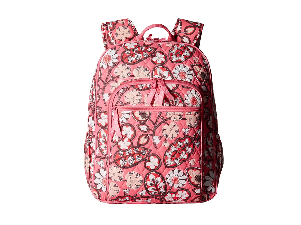 Vera Bradley - Campus Backpack (Blush Pink) Backpack Bags