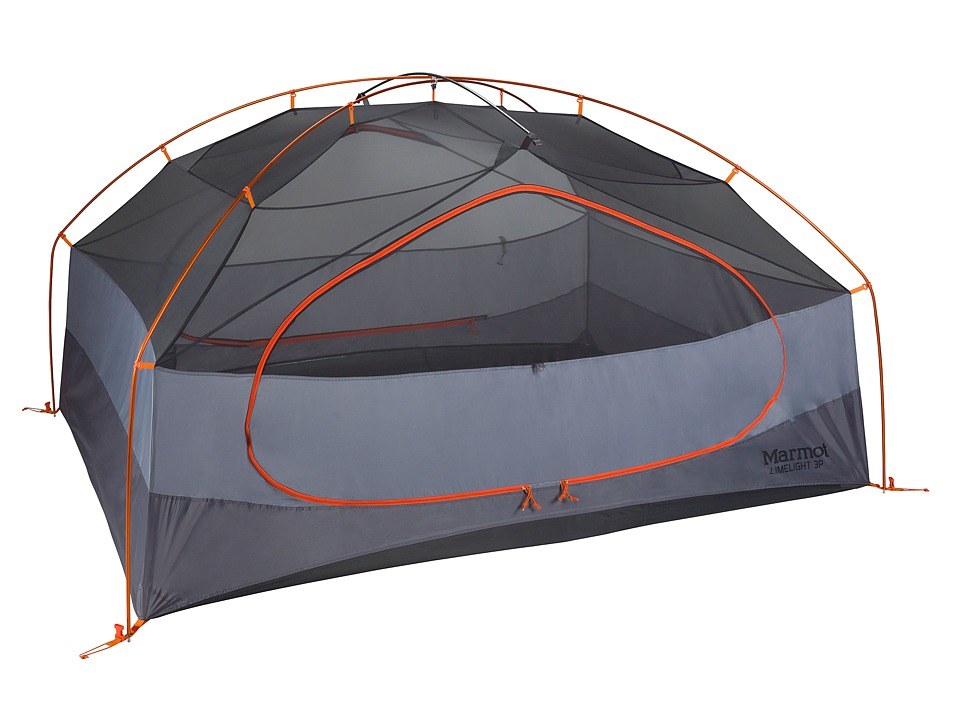 Marmot Limelight 3P Tent (Cinder/Rusted Orange) Outdoor S...