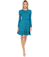 M Missoni - Solid Long Sleeve Dress