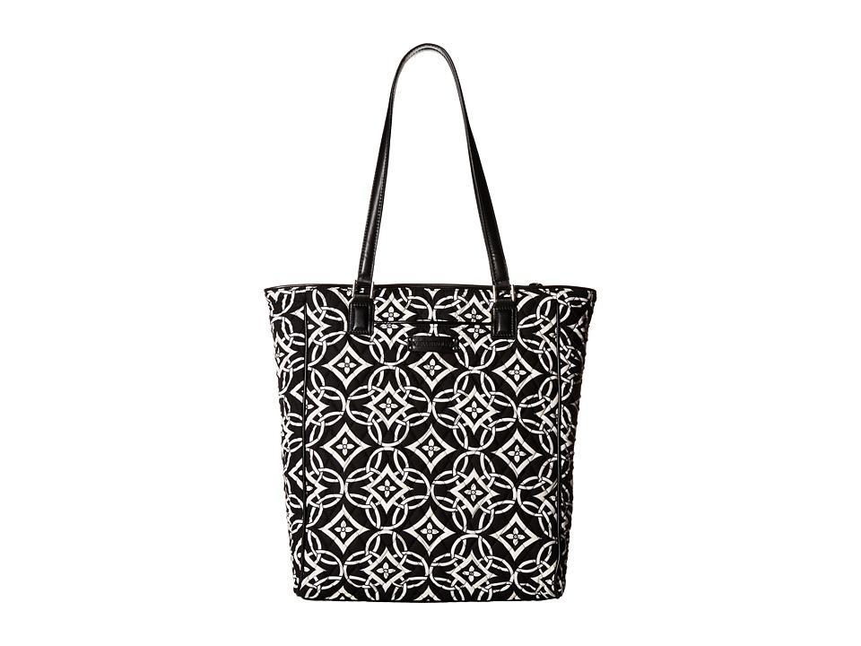 Vera Bradley Crosstown Tote Concerto/Black Tote Handbags