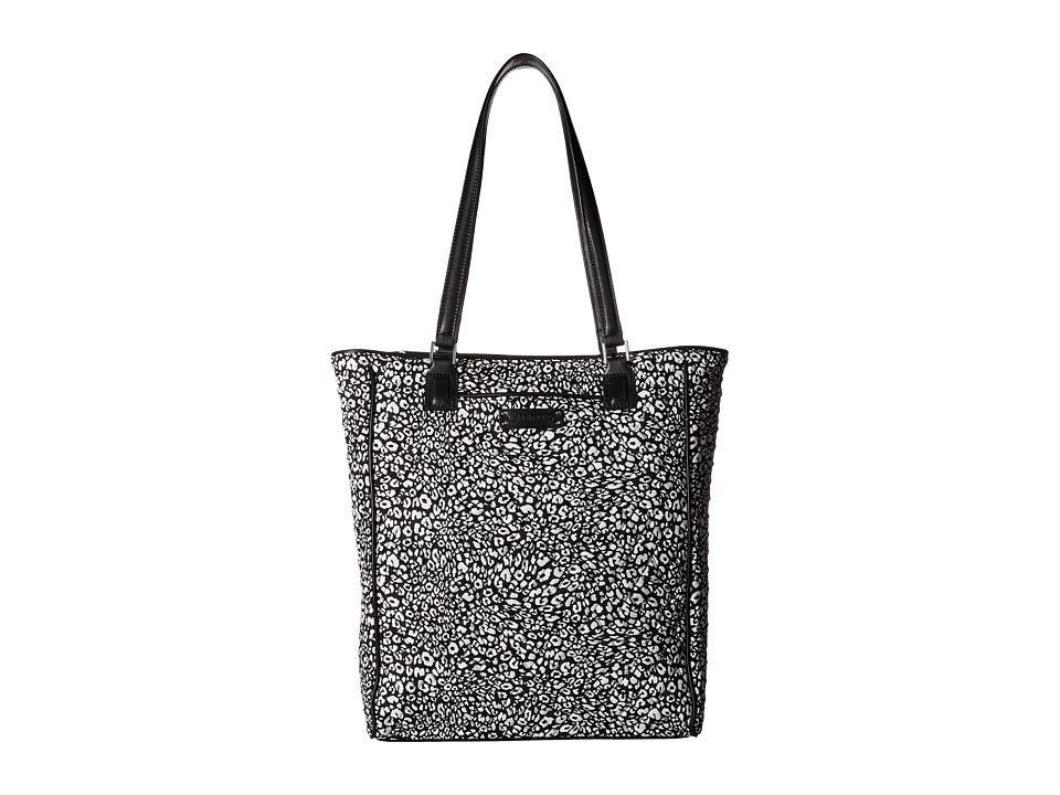 Vera Bradley - Crosstown Tote (Camocat/Black) Tote Handbags
