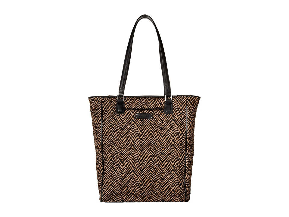 Vera Bradley Crosstown Tote Zebra/Black Tote Handbags