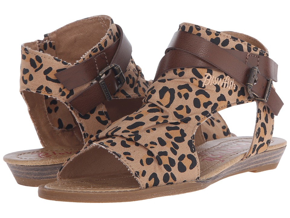 Blowfish Kids Balla-K (Little Kids/Big Kids) (Leopard/Whiskey) Girl