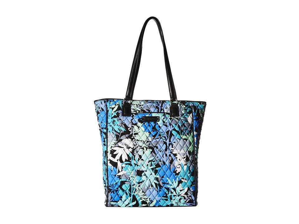 Vera Bradley - Crosstown Tote (Camofloral/Black) Tote Handbags