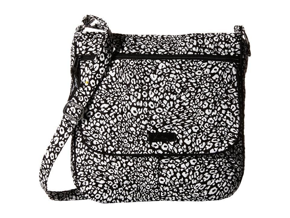 Vera Bradley Double Zip Mailbag Camocat Cross Body Handbags