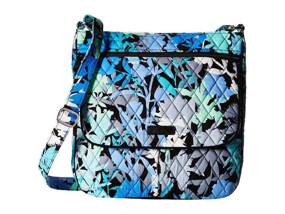 Vera Bradley Double Zip Mailbag Camofloral Cross Body Handbags
