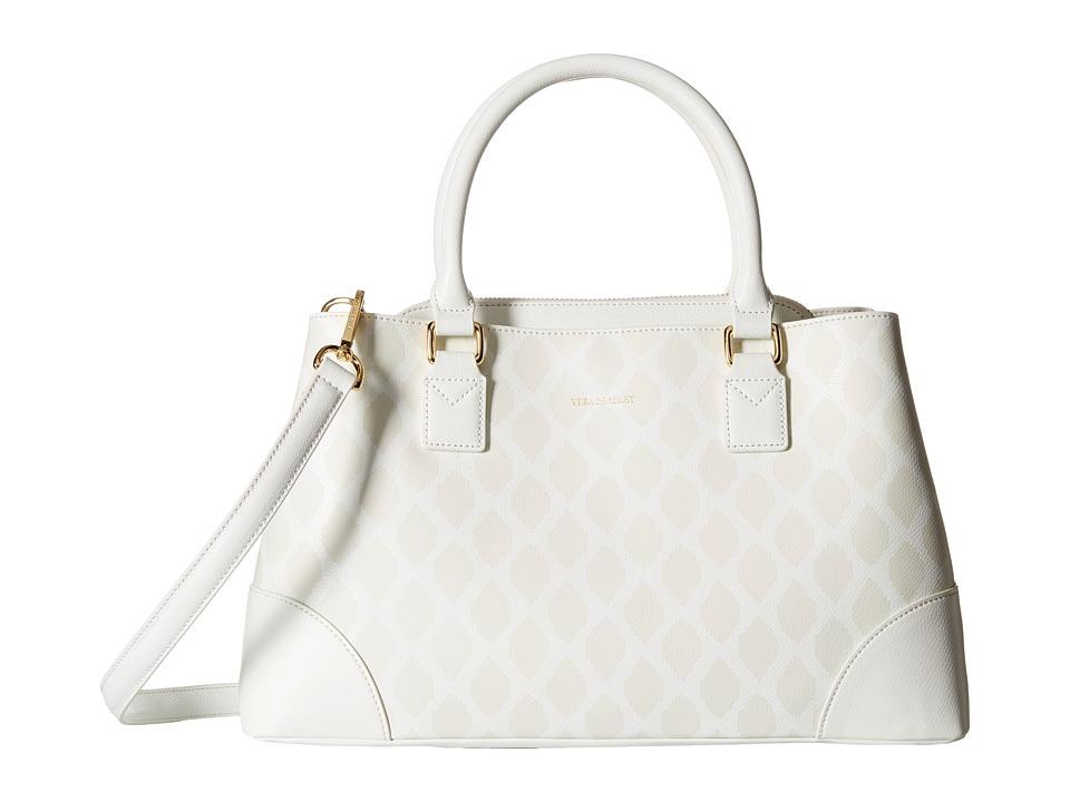 Vera Bradley Emma Satchel Ikat Diamonds Oyster Satchel Handbags