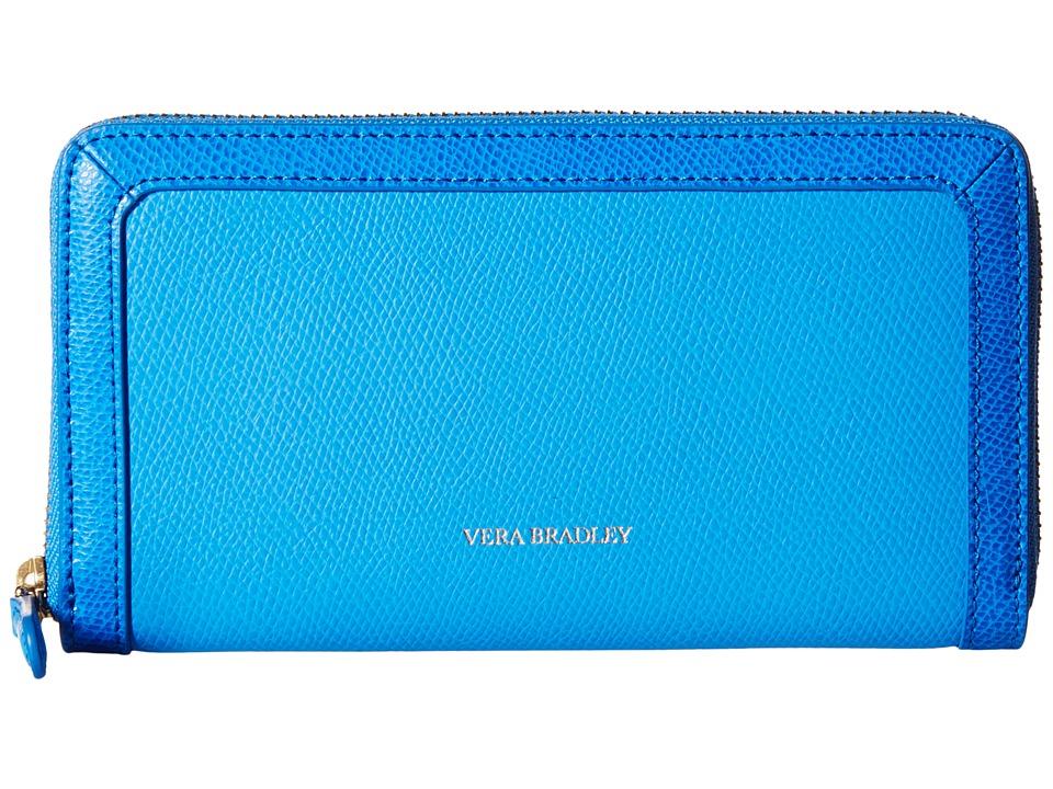 Vera Bradley Georgia Wallet Coastal Blue Wallet Handbags